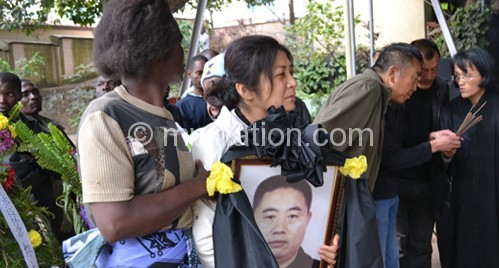 Chinese Embassy deplores insecurity